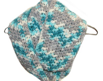 Crochet Infinity Scarf, crochet scarf, circle scarf, chunky scarf, loop scarf, winter scarf, neck warmer, women's accessories,