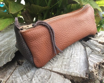 Kit Brown and brown leather