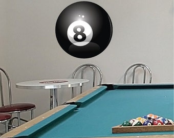 8 Ball Decals Etsy