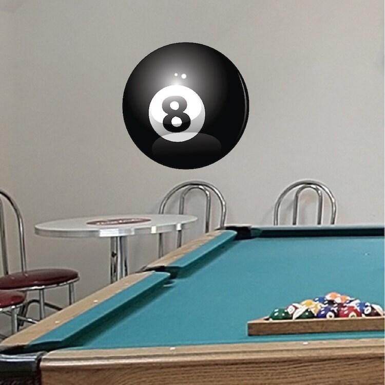 8 ball 8 ball decal removable 8 ball decal eight ball for 8 ball pool design