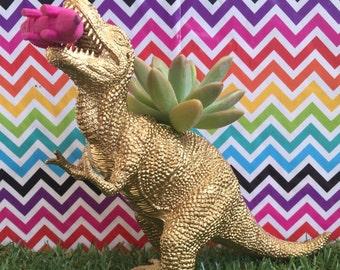 Dinosaur Planter, animal planter, succulent planter, air planter, T-Rex, dinosaur, room decor