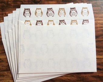 Owl Envelopes from Japan