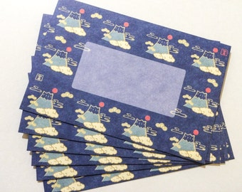 Japanese Envelopes - Glorious Fuji
