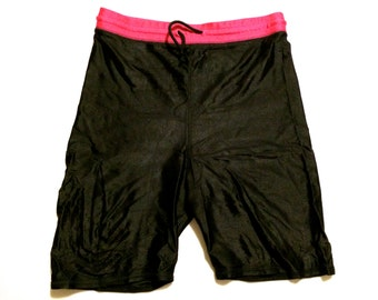 L The Body Co. Spandex Bike Shorts