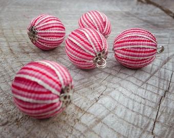 Ribbon Ball Attachment ~5 pieces #100825