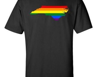 Gay Pride Shirt - Gay Pride in North Carolina - Gay Pride T-shirt