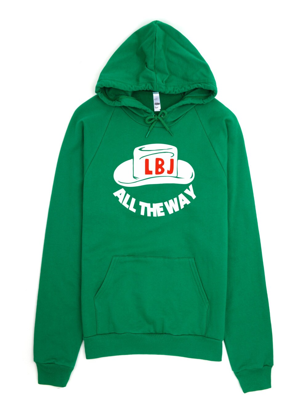 LBJ Sweatshirt -  - All The Way With LBJ Political Campaign For Lyndon B Johnson LBJ Hoodie