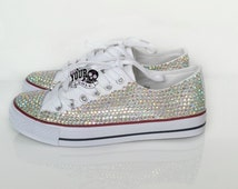 Sparkly bridal pumps. gems covered bridal pumps, plimsolls, flats. custom made wedding shoes