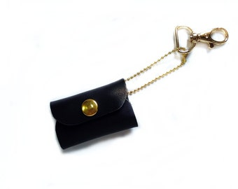 Coin pouch. Leather coin pouch.
