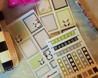 Lovely panda kit