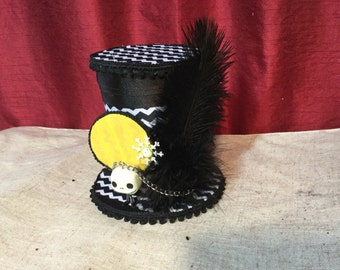 Jack Skellington Fascinator Top Hat