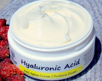 Hyaluronic Acid - Anti Aging & Acne - Face cream - Wrinkle Cream-  Problem Prone/Acne(2oz)