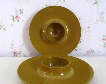 ROSTI Retro Eggcups Set of 2 Made in Denmark in the 70s