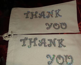 Wine Bag..THANK YOU  Great way to say Thank You and Also pay it forward.