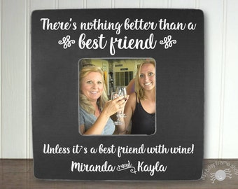 Best Friend Gift BFF Gifts Best Friend Birthday Gift Best Friend Frame There's Nothing Better Than a Best Friend IB5FSFRND