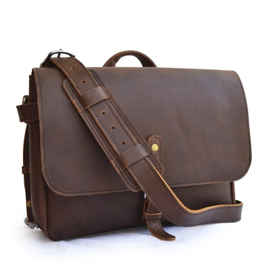 US Postal Bag Mens Leather Messenger Bag Men Leather Messenger