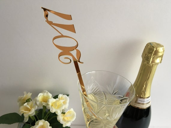 New year party Christmas decor Hen party 2017 party Table centerpiece Drink stirrers Cocktail party decoration New years eve Happy new year