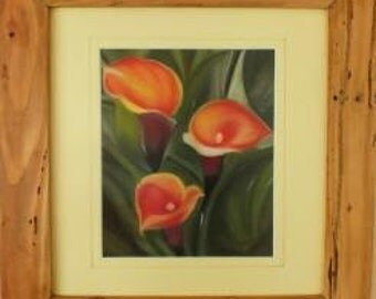 Rustic Handmade Oregon pine picture frame