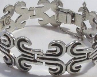 Vintage TAXCO Mexico Los Ballesteros Bracelet