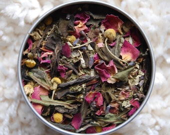 COUNTRY MEADOW Organic Herbal Tea Blend, Herbal Tea, Loose Herbal Tea