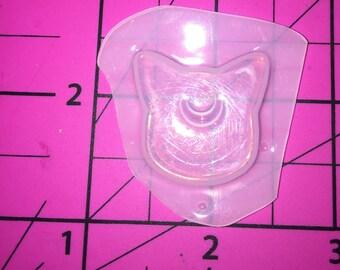 Kawaii Magical Sailor Moon Mini Luna Cat Flexible Plastic Resin MOLD