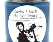 The Walking Dead Daryl Dixon Dirty Daryl inspired Scented Candle Fandom Candle Novelty Candle Horror Candle Scented Soy Candle 9oz Candle