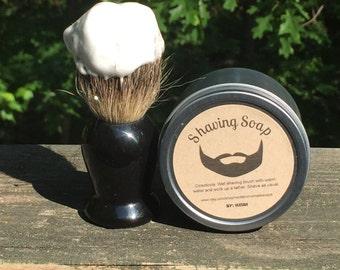 Shaving Soap & Shaving Brush