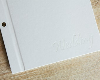 Wedding Journal and Guest Book