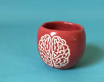 Ceramic BRAIN Pot