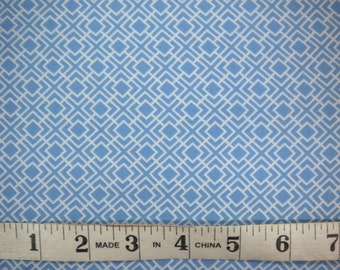 1 YD - From Bump To Baby (blue) by MODA Fabrics