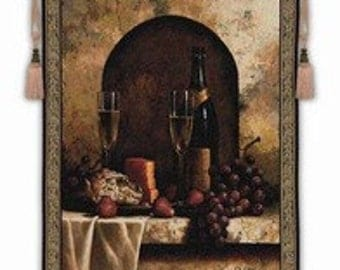 """A Date to Remember - 53""""x59"""" Tapestry Wall Hanging"""