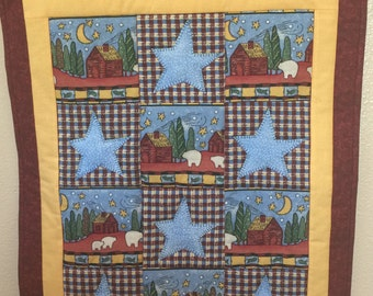 Mountian Cabin Wall Hanging