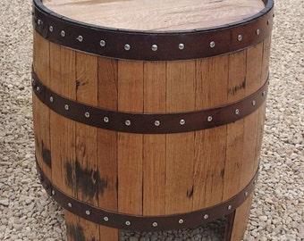 "Solid Oak Whisky Barrel Garden""NESSIE"" Garden | Coffee Table"