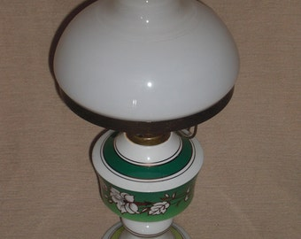 Vintage oil lamp oil lamp ceramic East 70