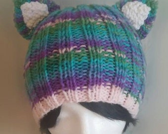 Colorful Cat Ear Hat