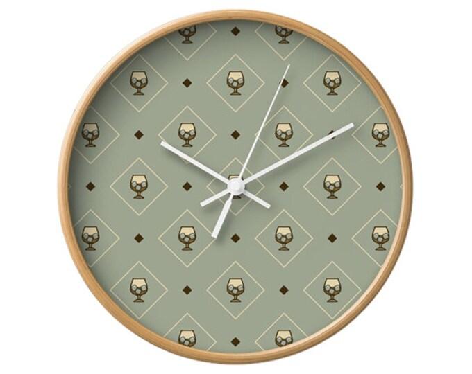 Liquor Wall Clock - Icon Prints: Drinks Series
