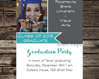 Graduation Banner Invitation