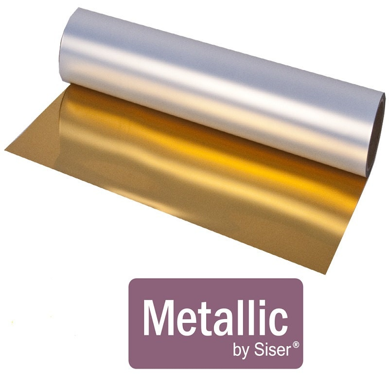 Siser Easyweed Metallic Gold And Silver Htv