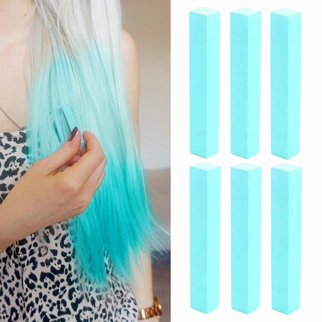 6 Best Temporary Turquoise Mint Hair Dye For Dark And Light