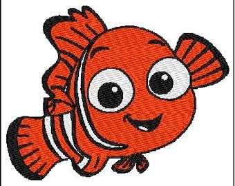 Nemo Embroidery Design