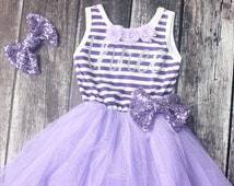 Purple birthday dress, Birthday outfit, toddler birthday, 3rd birthday outfit, Sophia the first, toddler birthday