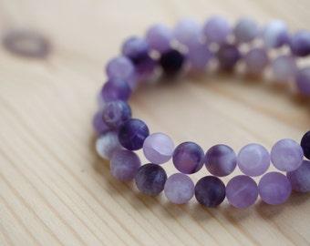 Amethyst bracelets / Natural Purple stone / Natural Amethyst bracelet