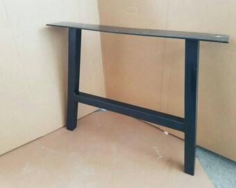 A frame steel legs