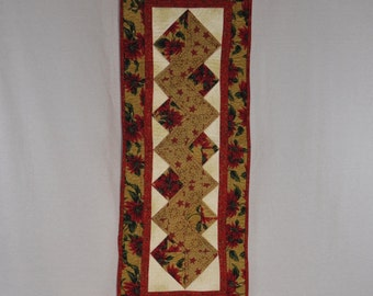 Holiday Zigzag Table Runner