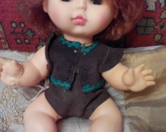 Rare doll of the USSR, Moscow factory of toys