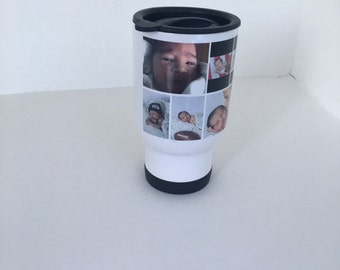Personalized Travel Mug, your picture on a travel mug, great gift idea
