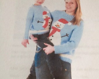 Adult Christmas Jumper Knitting Pattern