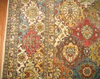 Antique Persian Tabriz Rug Size 9'6''x13'