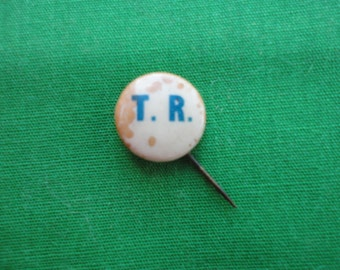 1904 Teddy Roosevelt Campaign Button