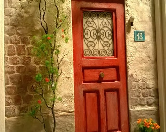 Miniature Door Art, Wall decor